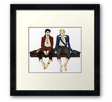 YO HO Framed Print