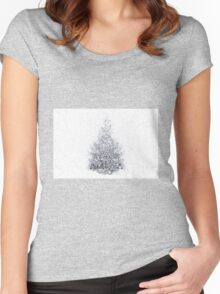 Snow Bound Women's Fitted Scoop T-Shirt