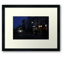Castro F Car Framed Print
