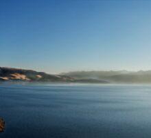 San Luis Reservoir by Ryan Carter