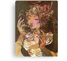 Listening Voice  Canvas Print
