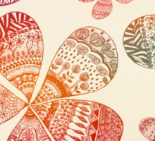 Storied Flowers Sticker