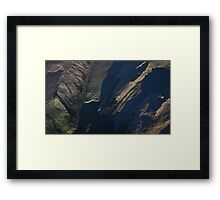 Alaskan Glacial Coast Framed Print