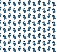 The Tardis Pattern by Ana Madeira