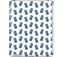 The Tardis Pattern iPad Case/Skin