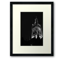 Tower of the University of Glasgow Framed Print