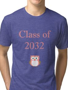 Class of 2032 Girl's Outfit Tri-blend T-Shirt