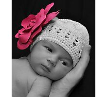 Pretty with a touch of pink Photographic Print
