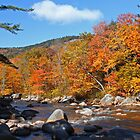 Rocky Gorge in New Hampshire by Paul Harrison