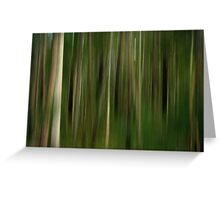 Lost in a Forest Greeting Card