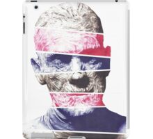 Mummy, A ball point pen portrait iPad Case/Skin