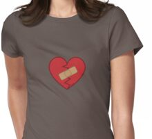 Healed Heart Womens Fitted T-Shirt
