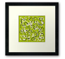 A DIFFERENT WORLD Framed Print