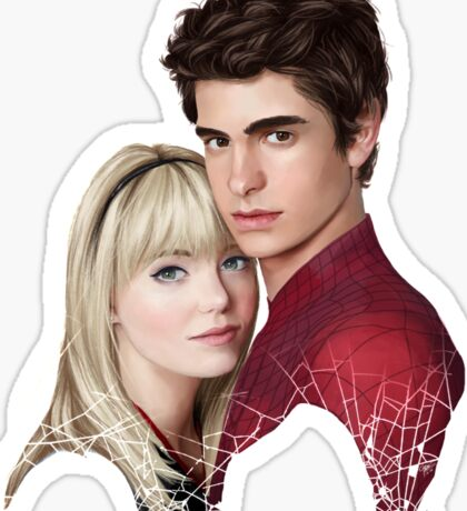 GWEN & SPIDEY Sticker