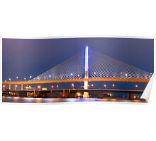 Veteran's Glass City Skyway Bridge  Poster