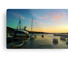 Boats fishing Metal Print