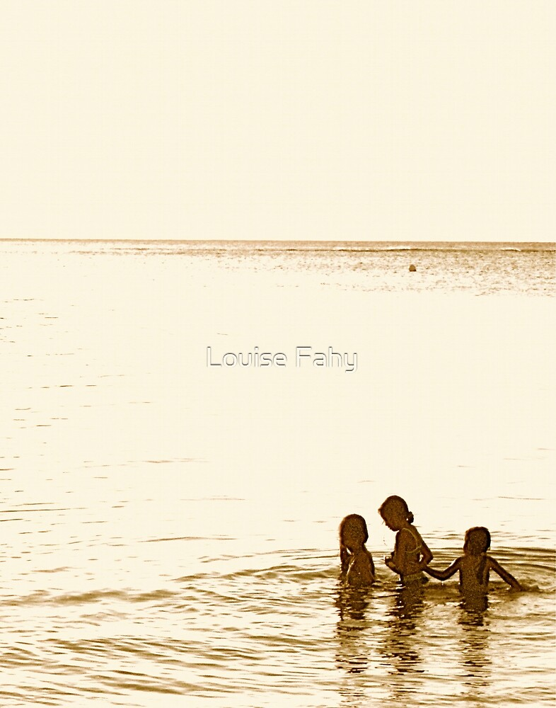At the Beach II by Louise Fahy