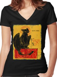 Fury of the Night - Vintage Edition Women's Fitted V-Neck T-Shirt