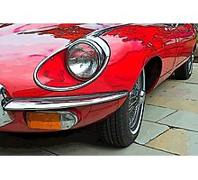 E-Type Jaguar Photographic Print