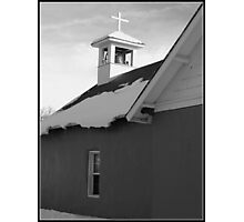 United Methodist Church~Vallecitos, New Mexico Photographic Print