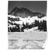 Upper Crystal Lake and Three-Way Mountain Poster