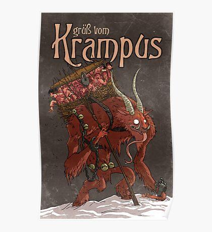 Grüß Vom Krampus Poster