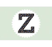 Letter Z Photographic Print