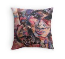 Illusions of Reality Throw Pillow