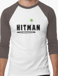 "Marijuana ""Hitman"" Men's Baseball ¾ T-Shirt"