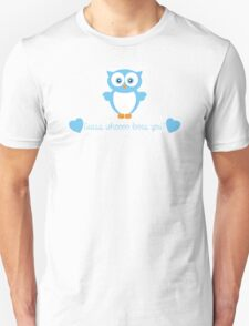 Guess Whoooo Loves You? (Blue) T-Shirt