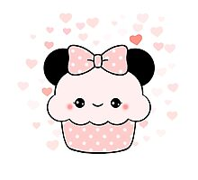 Minnie Cupcake Photographic Print