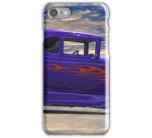 1930 Ford Model A 'Hot Stuff' Coupe iPhone Case/Skin