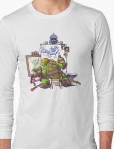 Ninja Rockwell Long Sleeve T-Shirt