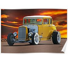 1932 Ford 'Golden Rule II' Coupe Poster