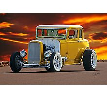 1932 Ford 'Golden Rule II' Coupe Photographic Print