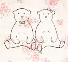 I love you beary much Sticker