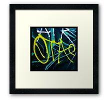 Arrow Taz Framed Print