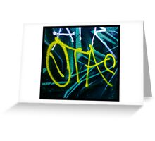 Arrow Taz Greeting Card
