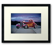 1934 Ford 'Some Like It Hot' Coupe Framed Print