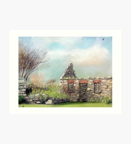 The Old Milking Parlour Art Print