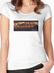 n.y. film tee Women's Fitted Scoop T-Shirt