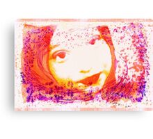 Nina in Abstract Canvas Print