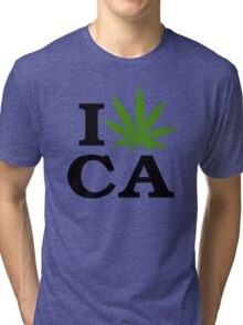 I Marijuana California Tri-blend T-Shirt