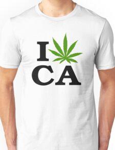 I Marijuana California Unisex T-Shirt
