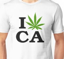I Love Marijuana California Cannabis Unisex T-Shirt