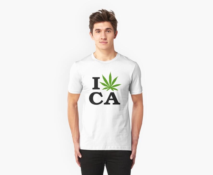 I Marijuana California by MarijuanaTshirt