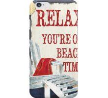 Beach Time 1 iPhone Case/Skin