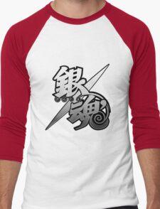 Gintama white logo Men's Baseball ¾ T-Shirt