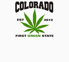 Marijuana Colorado First Green State Est 2012 T-Shirt