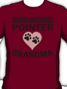 German Shorthaired Pointer Grandma T-Shirt